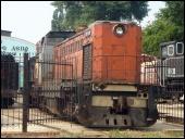 Тепловоз поселился в музее. В Музее истории и развития Донецкой железной дороги появился новый экспонат - тепловоз ТГМ-9 0001